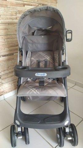 Kit carrinho e bebê conforto burigotto  - Foto 2
