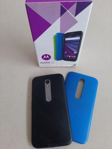 Smartphone MotoG 3°geração aceito cartão  - Foto 2