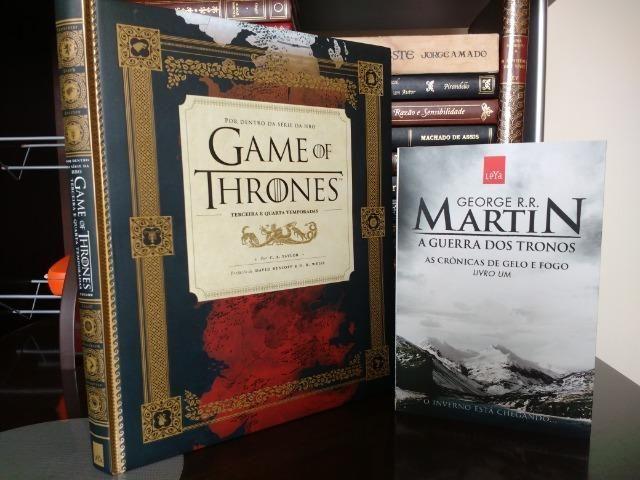 a34955d40 Livro Guia HBO Game of Thrones + Guerra dos Tronos vol. I - NOVO ...