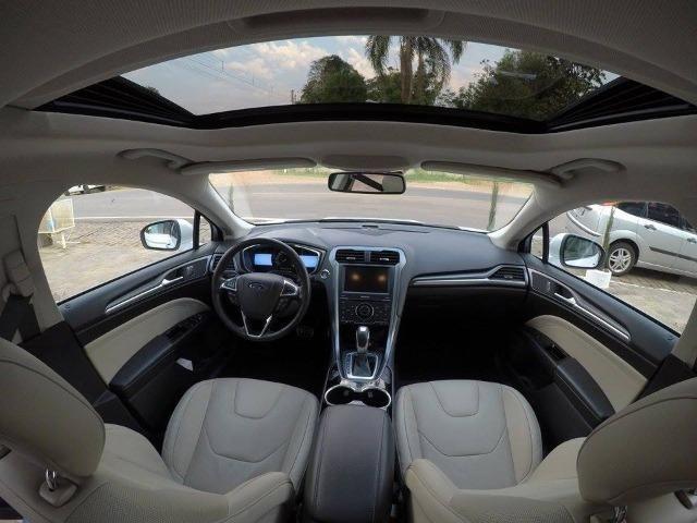 Ford Fusion Titanium awd 2015 2.0 Turbo (Pacote premium/interior caramelo) - Foto 7