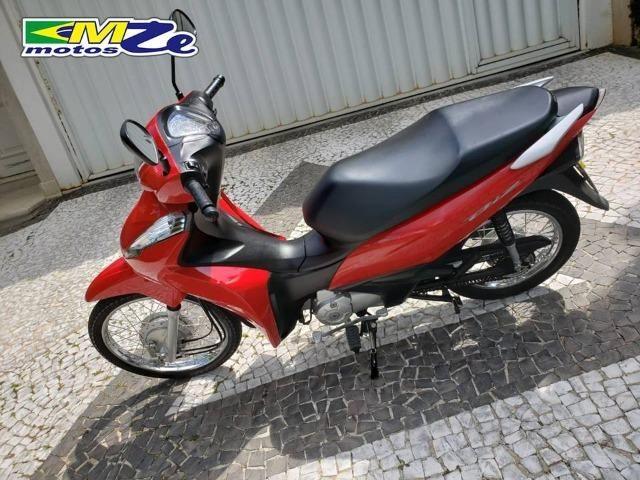 Honda Biz 110 I 2018 Vermelha com 5.000 km - Foto 9