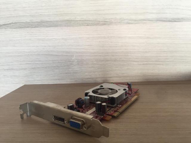 Placa De Vídeo Ati Radeon Hd3470 - 256 Mb - Foto 4