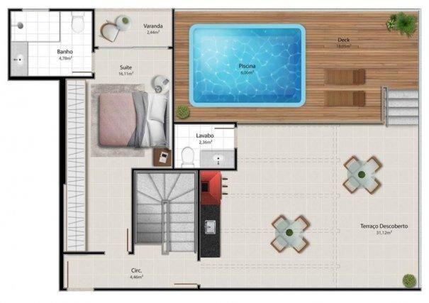 Entregando em 2021: Cobertura duplex na Praia de Itapuã - Foto 6