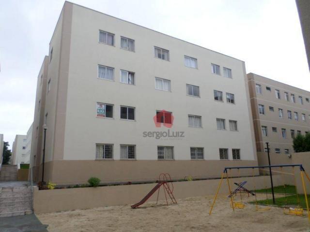 Apartamento com 02 dormitórios para locação no bairro Capão Raso - Curitiba/PR - Foto 12