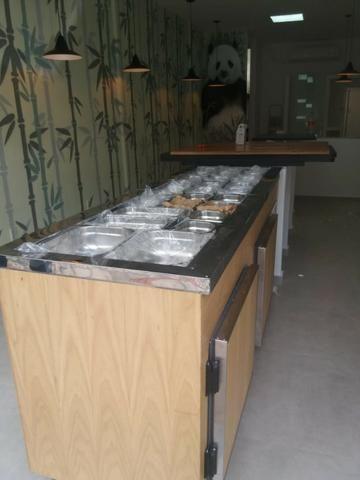 Balcão para açai, sorveteria e guloseimas, saladas, cubas refrigeradas, sushi - Foto 3