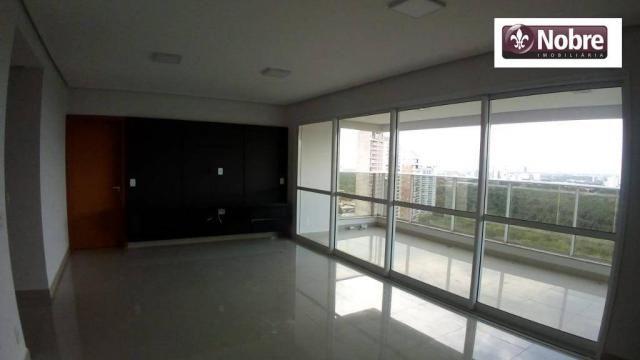 Apartamento com 4 dormitórios para alugar, 151 m² por r$ 3.805,00/mês - plano diretor sul  - Foto 16