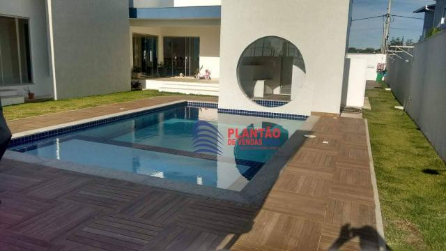 Linda casa linear com 4 quartos alto padrão no Viverde fase 2 - Foto 15