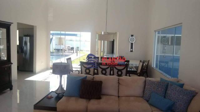 Linda casa linear com 4 quartos alto padrão no Viverde fase 2 - Foto 5