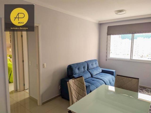 Apartamento com 1 dormitório para alugar, 46 m² - Centro Cívico - Mogi das Cruzes/SP - Foto 3