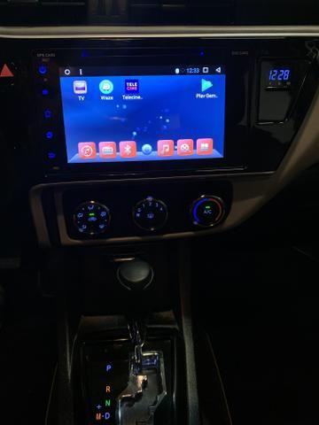 Toyota corolla gli 2018 automático c/ central multimídia impecável!!! - Foto 17