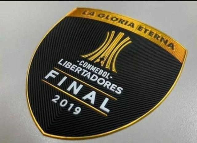 Kit Patch Final da Libertadores 2019  - Foto 6