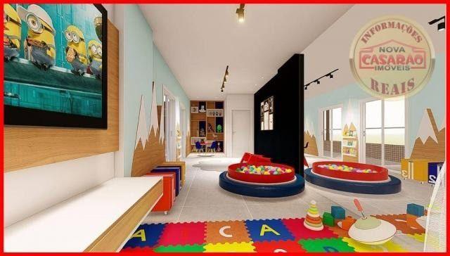 Apartamento com 2 dormitórios à venda, R$ 458.350,00 - Canto do Forte - Praia Grande - Foto 15