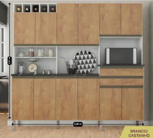 Cozinha kit malbec - Foto 3