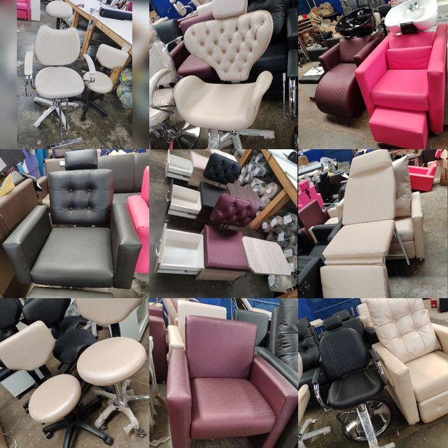 Cadeira para salão diretamente de Fábrica - Foto 5