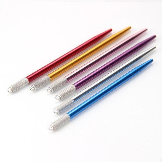Canetas Tebori diversas cores Microblading