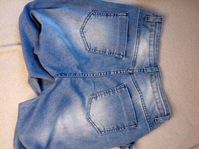 Calça Jeans - cintura alta - Foto 3