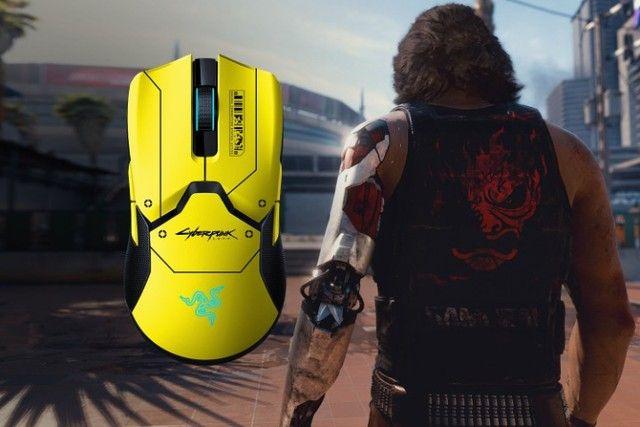 Mouse Gamer Viper Ultimate Cyberpunk 2077 Razer - Foto 2