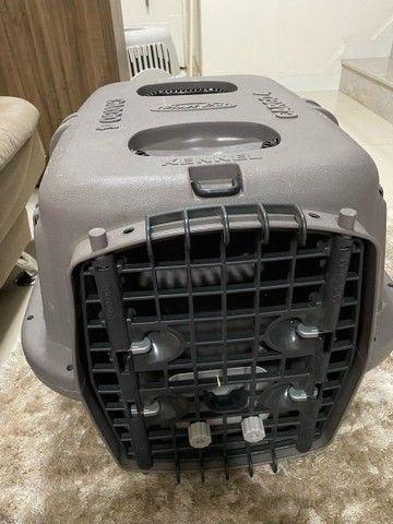 caixa de transporte de animais kennel cargo 4 plast pet  - Foto 2