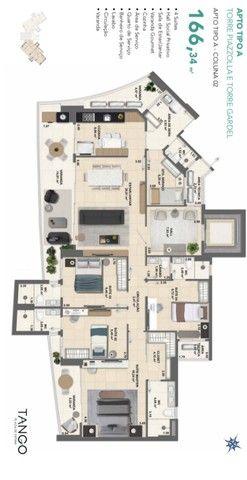 Apartamento para venda com 144 metros quadrados com 3 quartos em Fátima - Fortaleza - CE - Foto 17