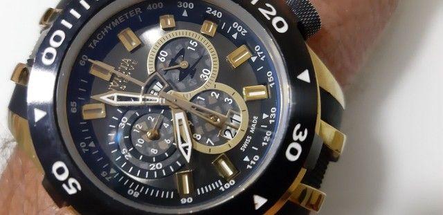Relógio Invicta Bolt 0980 Masculino Banhado Ouro