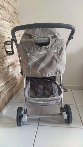 Kit carrinho e bebê conforto burigotto  - Foto 4