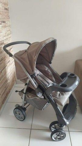 Kit carrinho e bebê conforto burigotto  - Foto 3