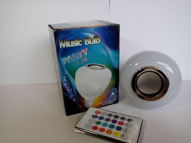 Lâmpada músical de led rgb - Foto 2