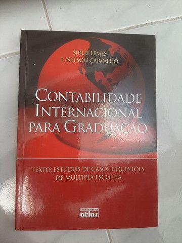 Livro contabilidade internacional para graduação