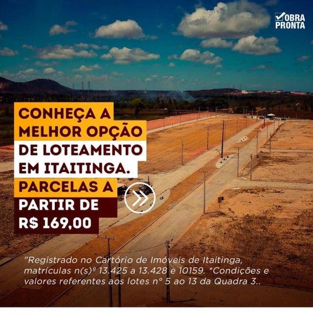 Lotes em Itaitinga com a melhor infraestrutura, pronto para construir! - Foto 7