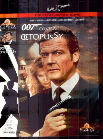 007 Contra Octopussy ,ano 1983. Fita VHS