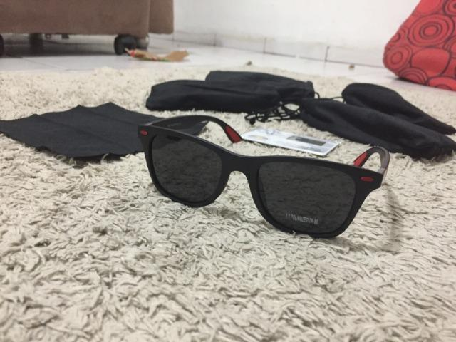 Óculos Polarizados Óculos de Sol e contra raios ultra violeta - Foto 2