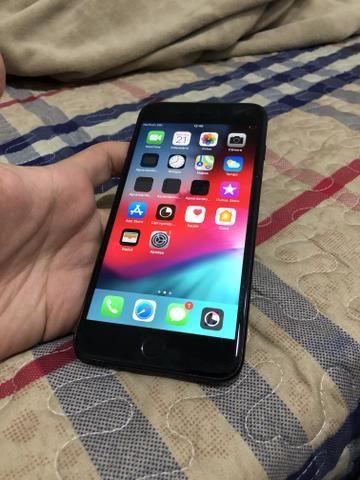 IPhone 7Plus 128Gb preto fosco