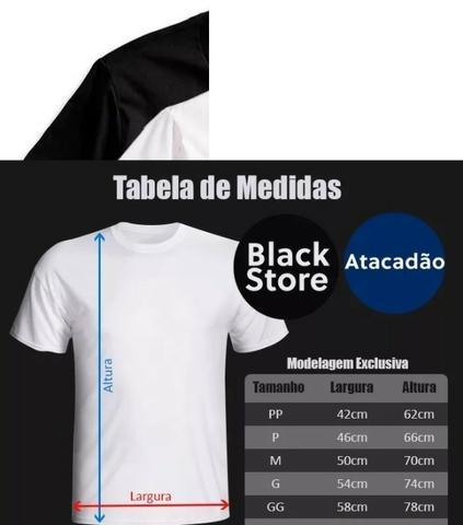 8c7ff7deaf Kit 10 Camiseta Masculina Lisa Camisa Básica 100% Algodão - Roupas e ...