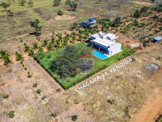 4 chácaras de 4 de hectares à venda por de r$ 320.000,00 cada em unaí/mg - Foto 8