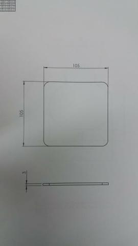 Aço 1008/1010 - recortes - Foto 2