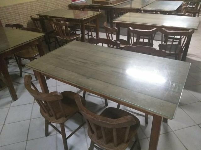 Vendo Mesa com 4 cadeiras - Foto 3