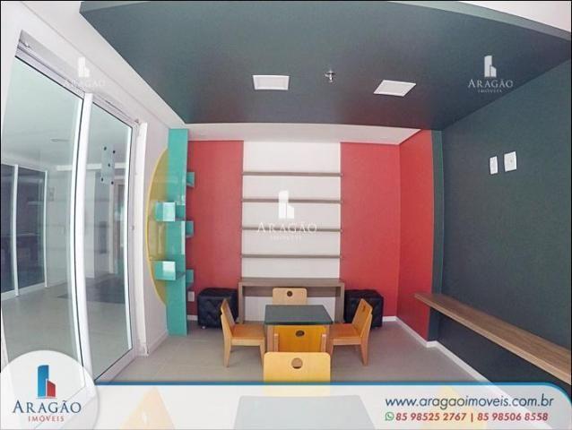 Apartamento com 3 suítes à venda, 94 m² por r$ 780.000 - aldeota (repasse de particular) - Foto 19