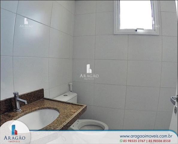 Apartamento com 3 suítes à venda, 94 m² por r$ 780.000 - aldeota (repasse de particular) - Foto 8