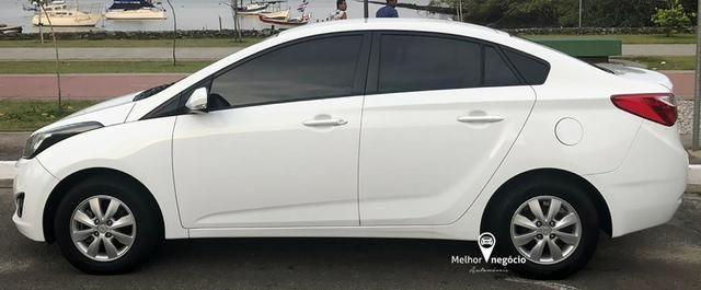 Hyundai HB20 Sedan Comf. Plus 1.6 Flex Aut. Branco - Foto 4