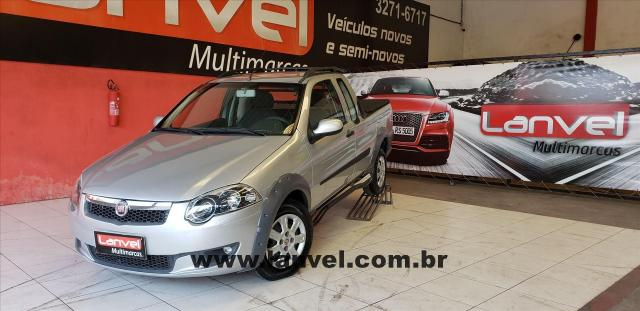 FIAT STRADA 2012/2013 1.6 MPI TREKKING CE 16V FLEX 2P MANUAL