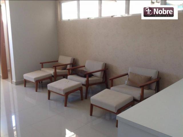 Apartamento com 4 dormitórios para alugar, 151 m² por r$ 3.805,00/mês - plano diretor sul  - Foto 9