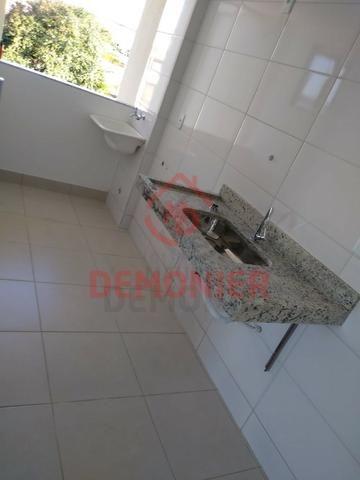 Alugo apartamento novo 2 quartos com suíte, 1 vaga, Campo Grande, com lazer - Foto 13