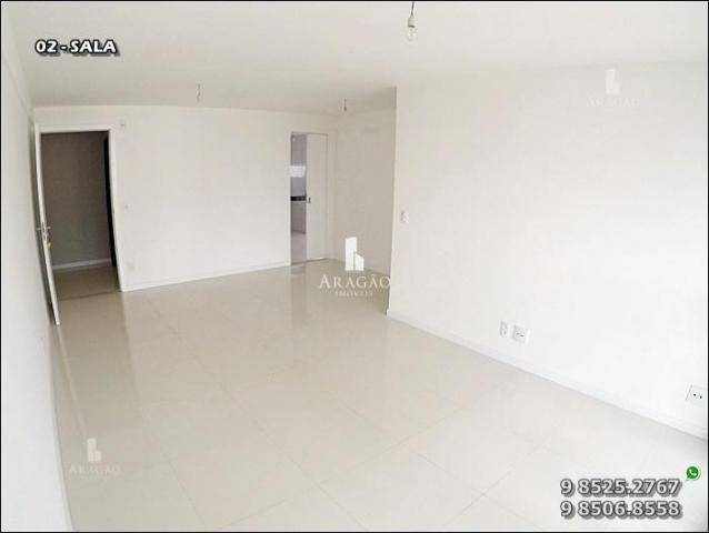 Apartamento à venda, 124 m² por r$ 1.150.000,00 - meireles - fortaleza/ce - Foto 4
