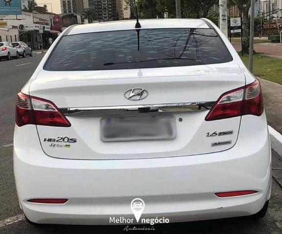 Hyundai HB20 Sedan Comf. Plus 1.6 Flex Aut. Branco - Foto 8