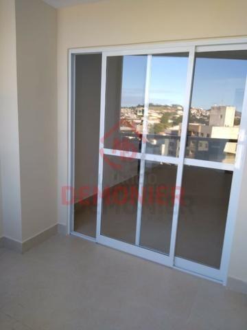 Alugo apartamento novo 2 quartos com suíte, 1 vaga, Campo Grande, com lazer - Foto 10