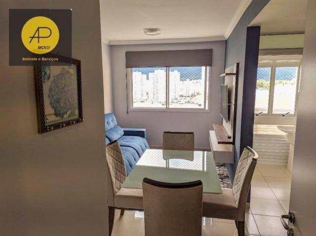 Apartamento com 1 dormitório para alugar, 46 m² - Centro Cívico - Mogi das Cruzes/SP - Foto 2