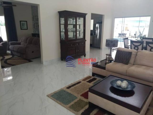 Linda casa linear com 4 quartos alto padrão no Viverde fase 2 - Foto 9