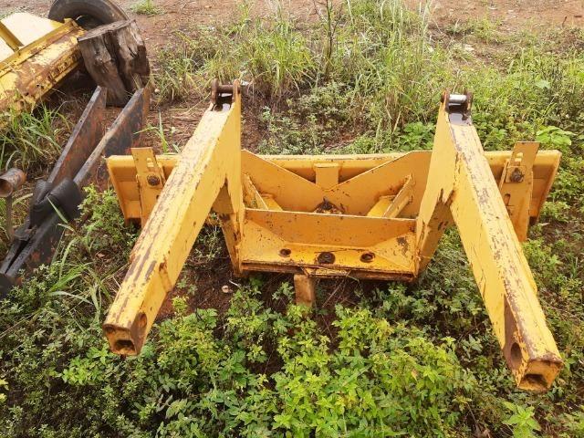 Lâmina dianteira 2,0 metros para trator Valmet 68 ou 78 - No estado - Foto 4