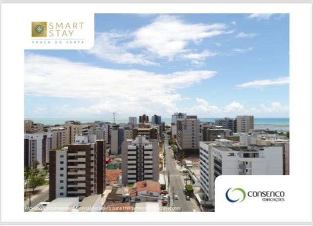 Smart Stay na Ponta Verde, Apartamentos Quarto/Sala em até 120 meses ! - Foto 9