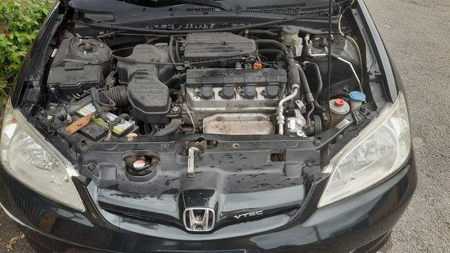 Vendo Civic LXL 2006 Completo + multimídia - Foto 4